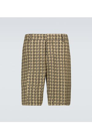 Fendi Bermuda-Shorts Interlace FF