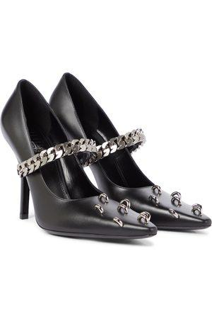 Givenchy Verzierte Pumps aus Leder