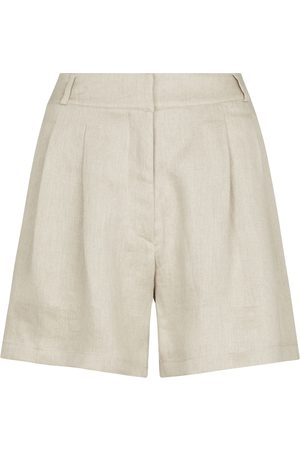 ASCENO Shorts Madrid aus Leinen