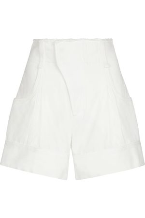 Chloé High-Rise Shorts aus Baumwolle