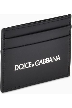 Dolce & Gabbana Herren Black logoed credit card holder