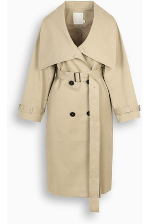 The Loom Wide-collar trench coat