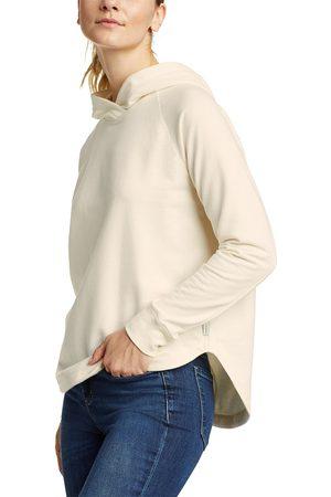 Eddie Bauer Cozy Camp Sweatshirt mit Kapuze Damen Natur Gr. XS