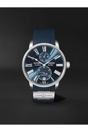 Ulysse Nardin Marine Torpilleur Automatic 42mm Stainless Steel and Rubber Watch, Ref. No. 1183-310-3/43