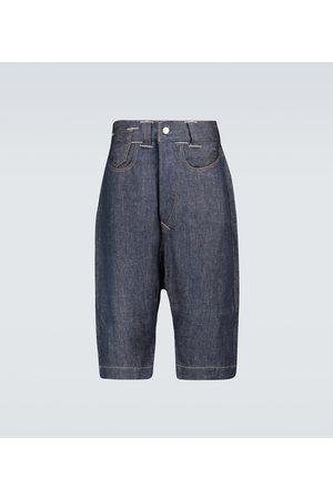 JUNYA WATANABE Shorts - Jeansshorts aus Leinen
