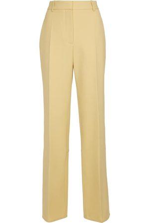 Victoria Beckham Damen Hosen & Jeans - Hose aus Woll-Gabardine