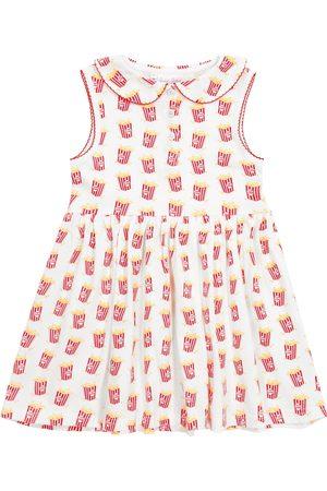 Rachel Riley Bedrucktes Kleid aus Baumwoll-Jersey