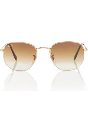 Ray-Ban Damen Sonnenbrillen - Sonnenbrille RB3548 Hexagonal Flat