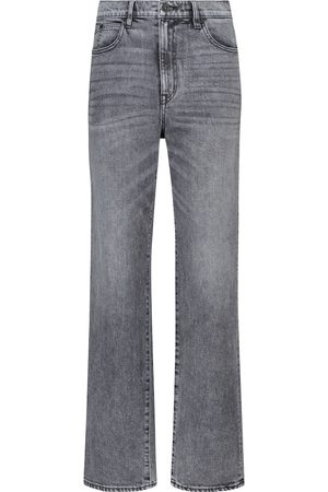 SLVRLAKE High-Rise Straight Jeans London