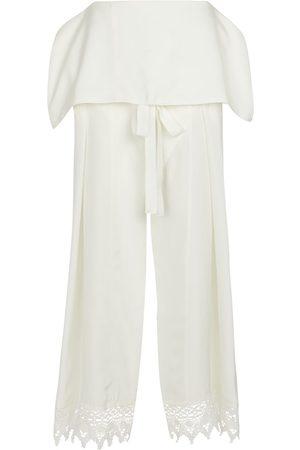 Loewe Damen Weite Hosen - Paula's Ibiza Seidenhose mit weitem Bein