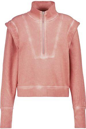 VERONICA BEARD Damen Longsleeves - Sweatshirt Dylan aus Baumwolle