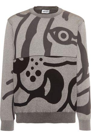 "Kenzo Baumwoll-sweatshirt ""k-tiger"""