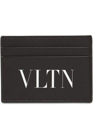 VALENTINO GARAVANI Kartenhülle Aus Leder Mit Vltn-logo