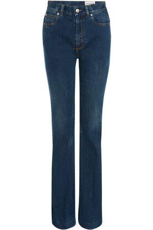 Alexander McQueen Jeans Aus Stretch-baumwolldenim