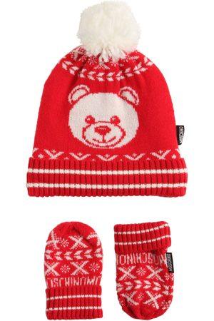 Moschino Mütze Und Handschuhe Aus Wollmischung