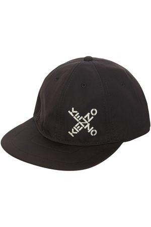 Kenzo Baseballkappe Aus Technocanvas Mit Logo