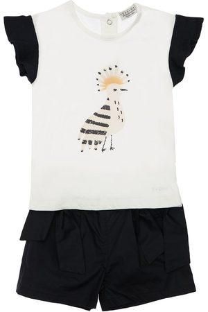 YELLOWSUB T-shirt Und Shorts Aus Baumwolljersey