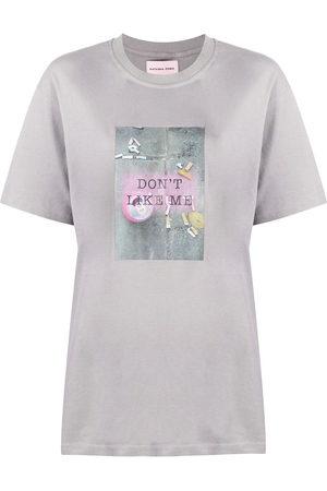 "Natasha Zinko Damen Shirts - T-Shirt mit ""Don't Like Me""-Print"