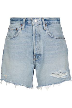 Agolde High-Rise Jeansshorts Riley