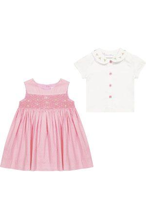 Rachel Riley Baby Set aus Kleid und Bluse