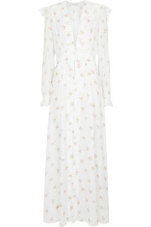 Alessandra Rich Damen Bedruckte Kleider - Bedrucktes Maxikleid
