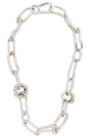 AMBUSH Herren Halsketten - Halskette mit Ringanhänger