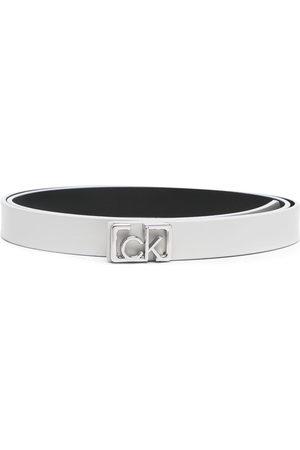 Calvin Klein Damen Gürtel - Gürtel mit Logo-Schnalle