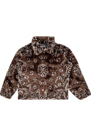 Supreme Bandana faux fur jacket