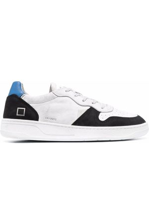 D.A.T.E. Herren Sneakers - Vintage low-top leather sneakers