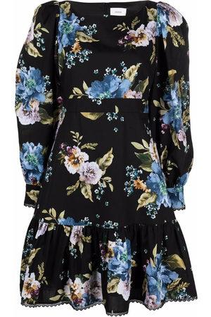 Erdem Floral-print cotton dress