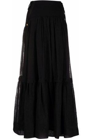 Alberta Ferretti Flared maxi skirt