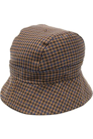 Liberal Youth Ministry Check print bucket hat