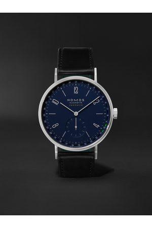 Nomos Glashütte Herren Uhren - Tangente Neomatik 41 Automatic 41mm Stainless Steel and Cordovan Leather Watch, Ref. No. 182