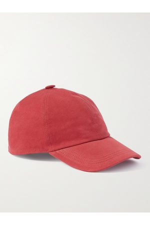 Brunello Cucinelli Herren Caps - Logo-Embroidered Cotton-Gabardine Baseball Cap