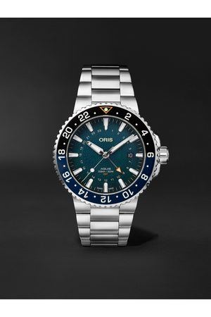 Oris Aquis Whale Shark Limited Edition Automatic 43.5mm Stainless Steel Watch, Ref. No. 01 798 7754 4175-Set