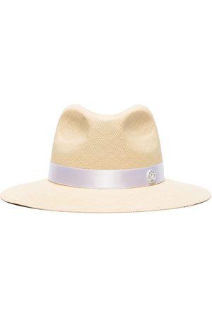 Le Mont St Michel Damen Hüte - Henriette fedora hat - Nude