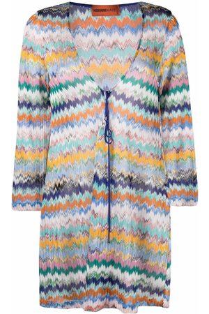 Missoni Mare Damen Tunikakleider - Zigzag-knit tunic dress