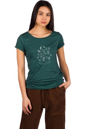 Ragwear Damen Shirts - Florah Print Organic T-Shirt