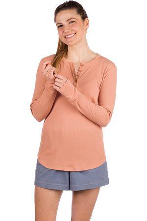 Kazane Damen Longsleeves - Margot Naturals Long Sleeve T-Shirt