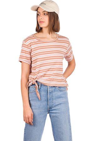 O'Neill Damen Shirts - Striped Knotted T-Shirt