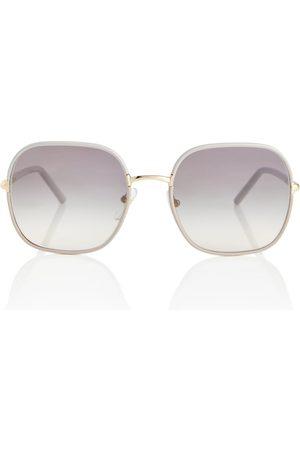 Prada Eckige Sonnenbrille