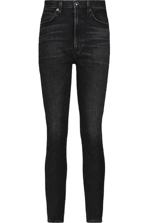 AGOLDE High-Rise Skinny Jeans Pinch
