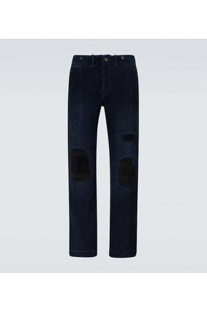 RRL Distressed-Hose aus Baumwollcord