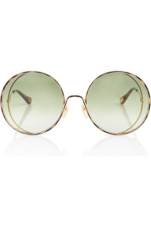 Chloé Runde Sonnenbrille Hanah