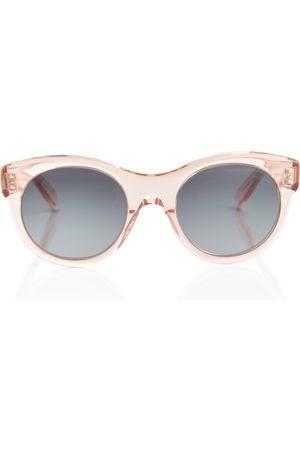 Céline Runde Sonnenbrille aus Acetat