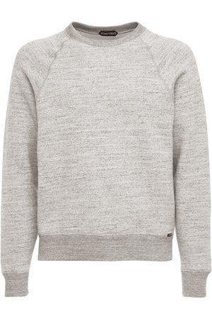 TOM FORD Sweatshirt Aus Baumwolle Mit U-ausschnitt