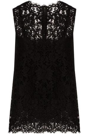 Dolce & Gabbana Damen Oberbekleidung - Top aus Spitze