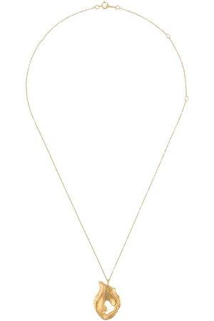 Alighieri Halsketten - Halskette mit Flammenanhänger