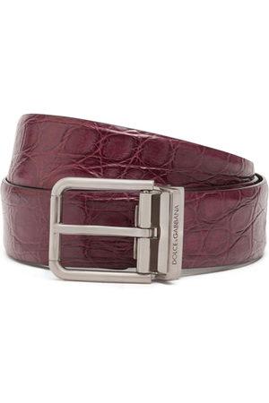 Dolce & Gabbana Textured belt