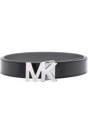 Michael Kors Logo-plaque leather belt